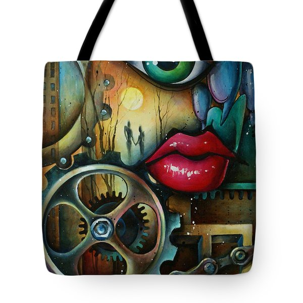 Dreamers 3 Tote Bag by Michael Lang