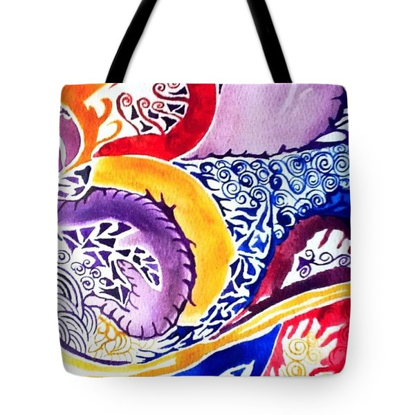 Dreaming In Watercolors Tote Bag