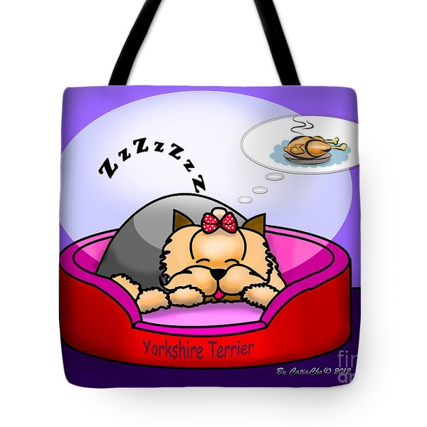 Dreaming Tote Bag by Catia Cho