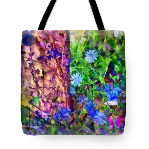 Dreaming Night And Day Tote Bag by Angelina Vick