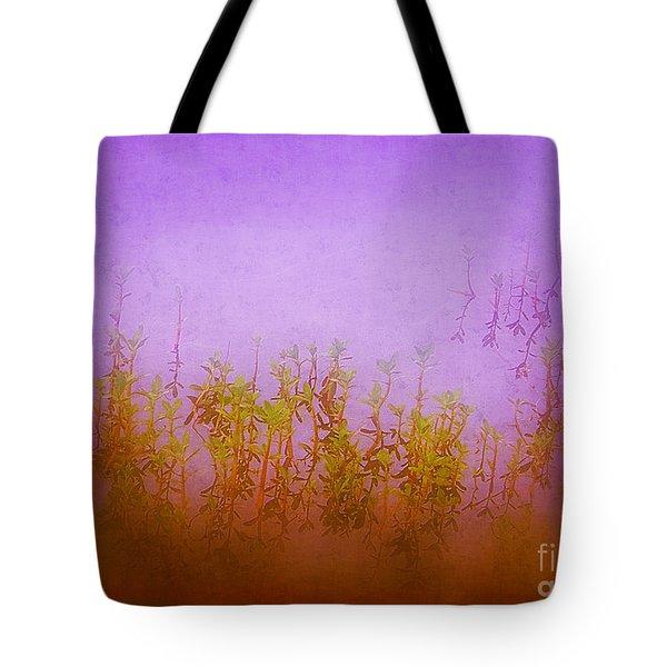 Dreams At Daybreak Tote Bag by Judi Bagwell