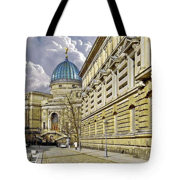 Dresden Academy Of Fine Arts Tote Bag by Christine Till