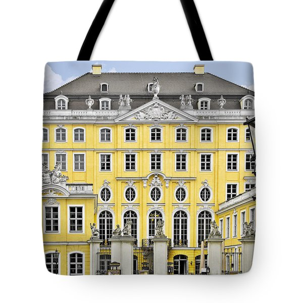Dresden Taschenberg Palace - Celebrate Love While It Lasts Tote Bag by Christine Till