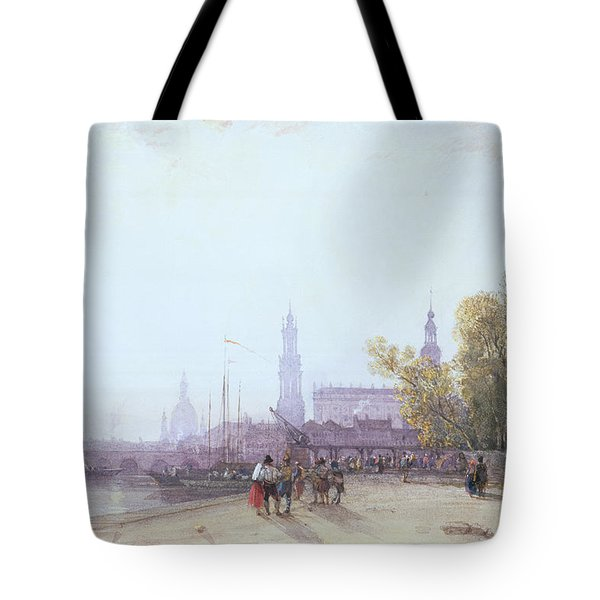 Dresden Tote Bag by William Wyld