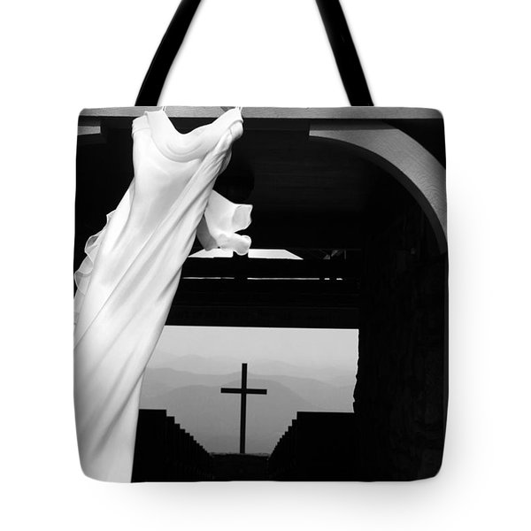 Dress And Cross Tote Bag