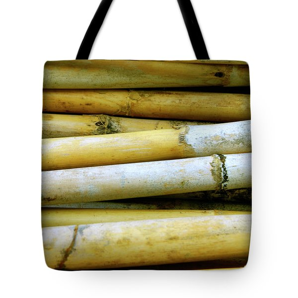 Dried Canes Tote Bag by Carlos Caetano