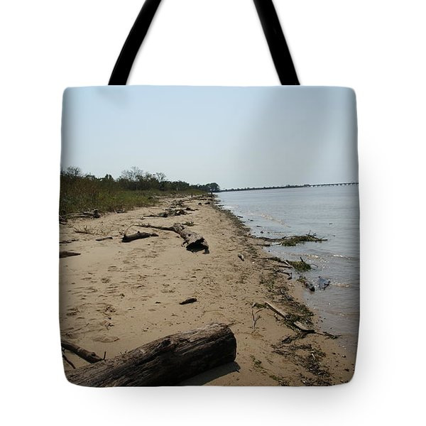 Tote Bag featuring the photograph Driftwood by Charles Kraus