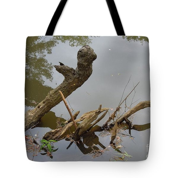 Tote Bag featuring the photograph Driftwood by Renee Trenholm