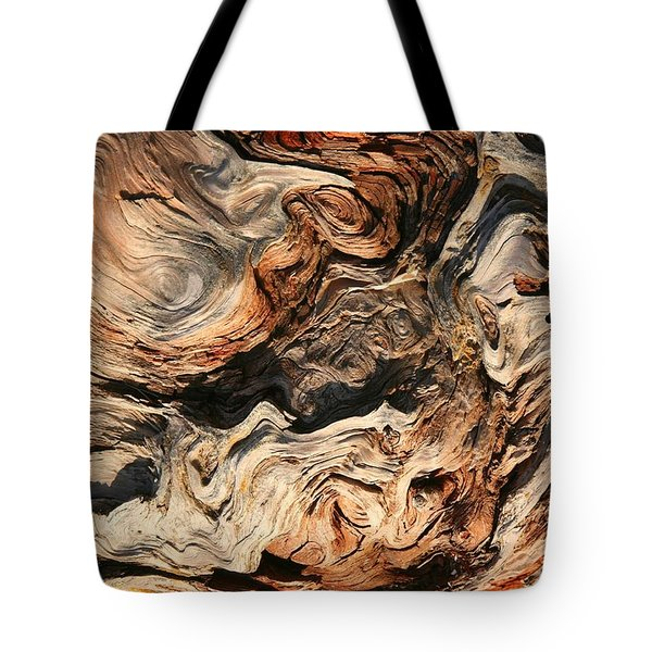 Driftwood Van Gogh Tote Bag by Winston Rockwell