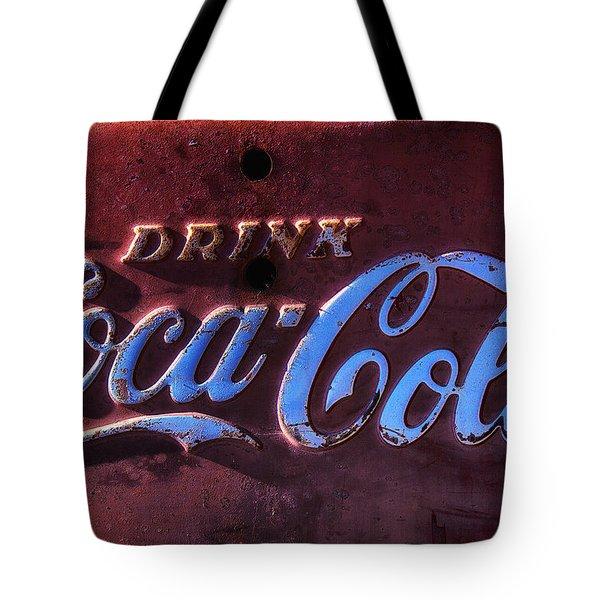 Drink Coca Cola Tote Bag by Garry Gay