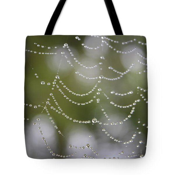 Tote Bag featuring the photograph Drippy by Cathie Douglas