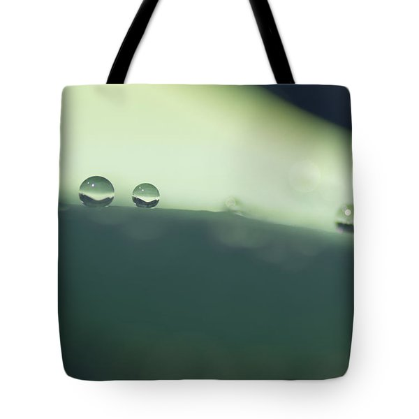 Tote Bag featuring the photograph Drops by Priya Ghose
