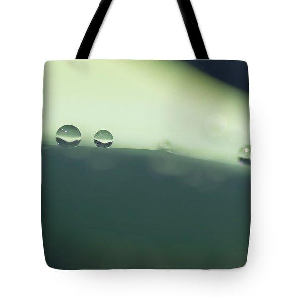 Drops Tote Bag by Priya Ghose