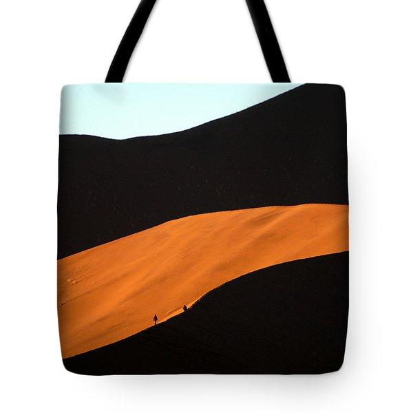 Dune Tunnel Tote Bag