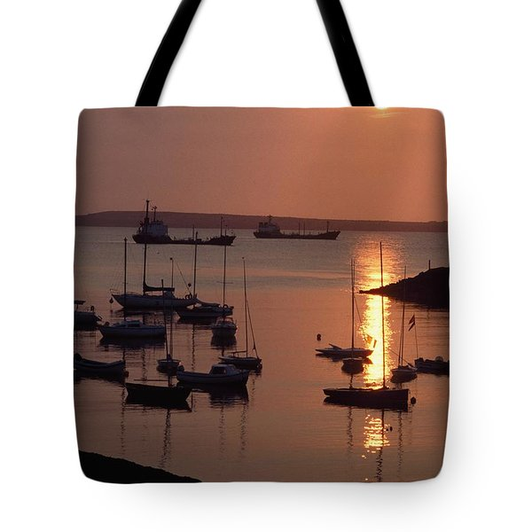 Dunmore East, Co Waterford, Ireland Tote Bag