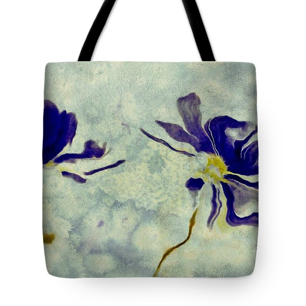 Duo Daisies Tote Bag by Variance Collections