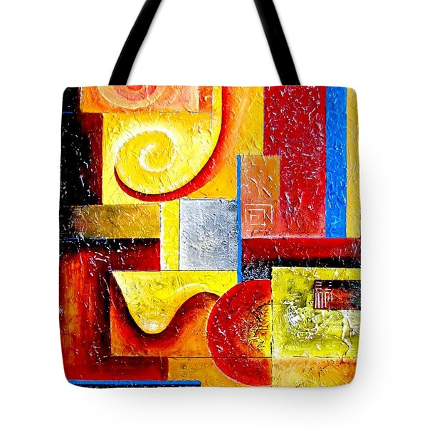Duospiral Tote Bag