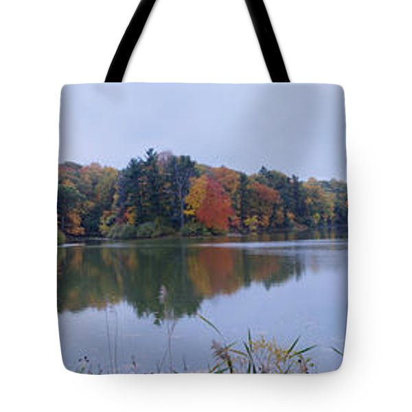 Tote Bag featuring the photograph Durand Lake by William Norton