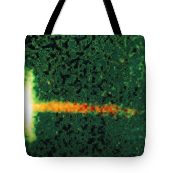 Dust Disc And Jet Around Young Star Tote Bag by Space Telescope Science Institute / NASA