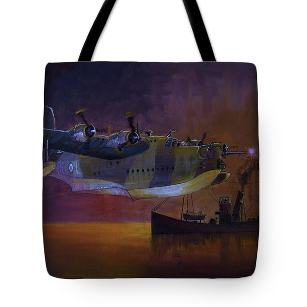 Duty Done Tote Bag by Ray Agius