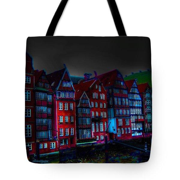 Dyke Road  -  Hamburg Tote Bag by EricaMaxine  Price