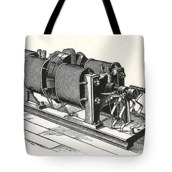 Dynamo Electric Machine Tote Bag by Science Source
