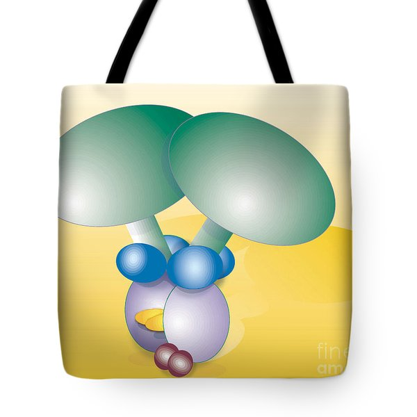 Dynein Complex Tote Bag by Oak Ridge National Laboratory