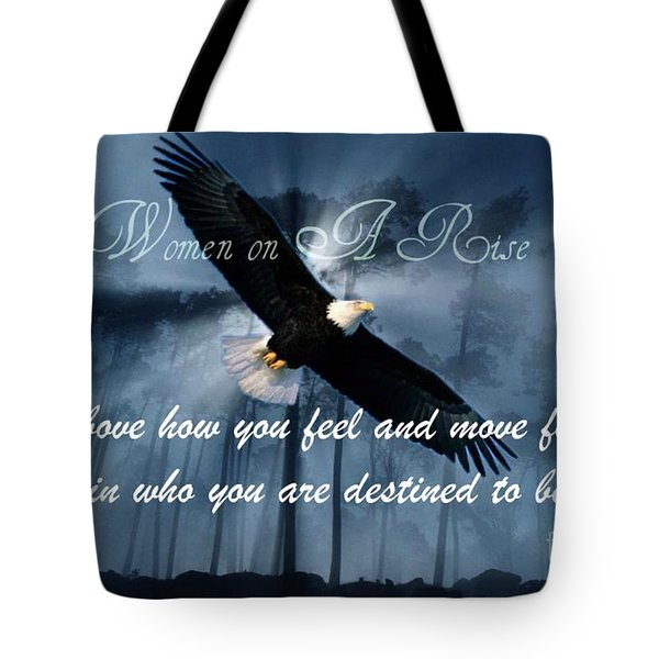 Eagle Flight Tote Bag