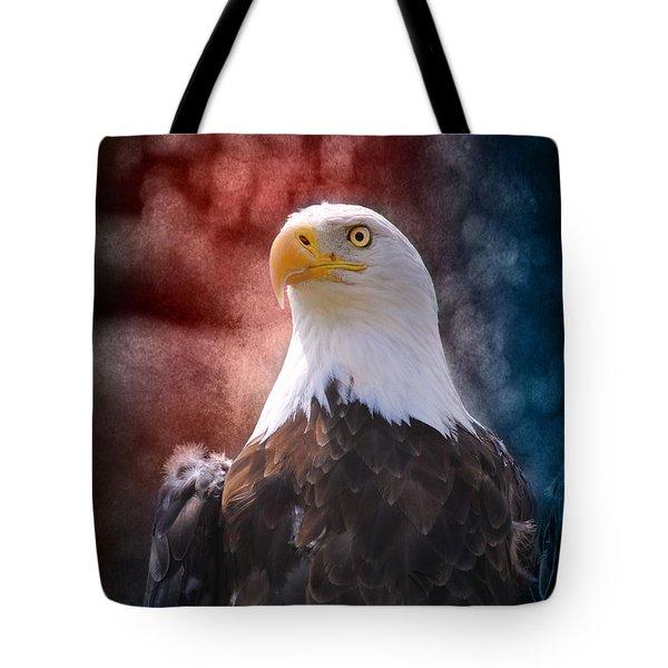 Eagle I Tote Bag by Jai Johnson