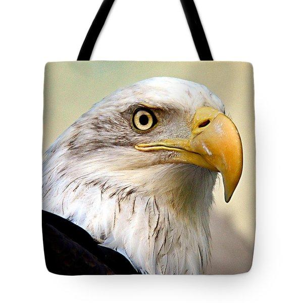 Eagle Portrait Tote Bag