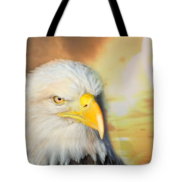 Eagle Sun Tote Bag by Marty Koch