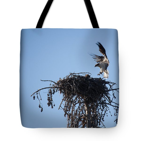 Eagle's Nest Tote Bag by Ralf Kaiser