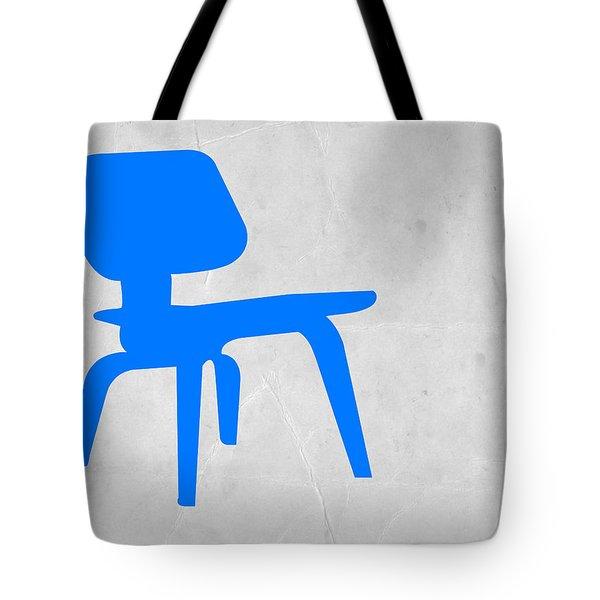 Eames Blue Chair Tote Bag