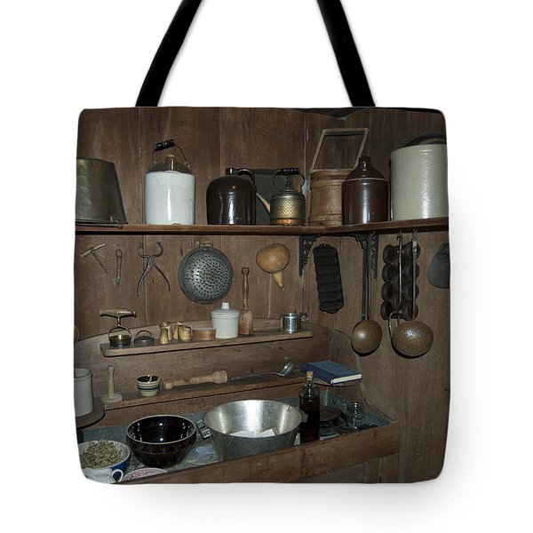 Early American Utensils Tote Bag