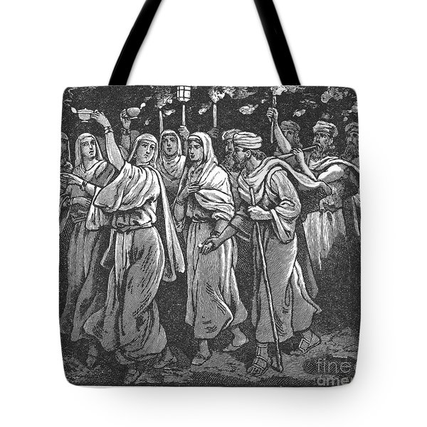 Early Christian Marriage Tote Bag by Granger