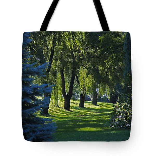 Tote Bag featuring the photograph Early Morning by John Stuart Webbstock