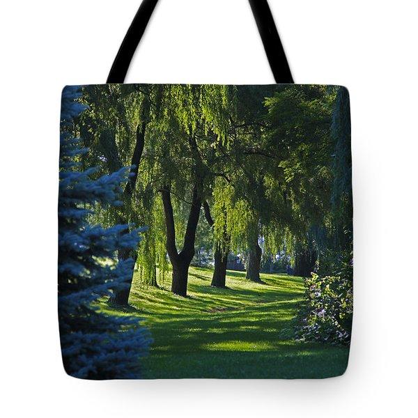 Early Morning Tote Bag by John Stuart Webbstock