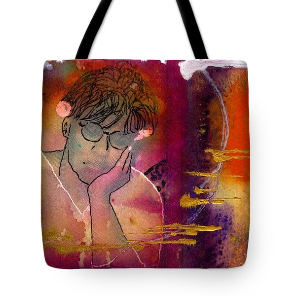 Early Morning Songwriter Tote Bag by Angela L Walker