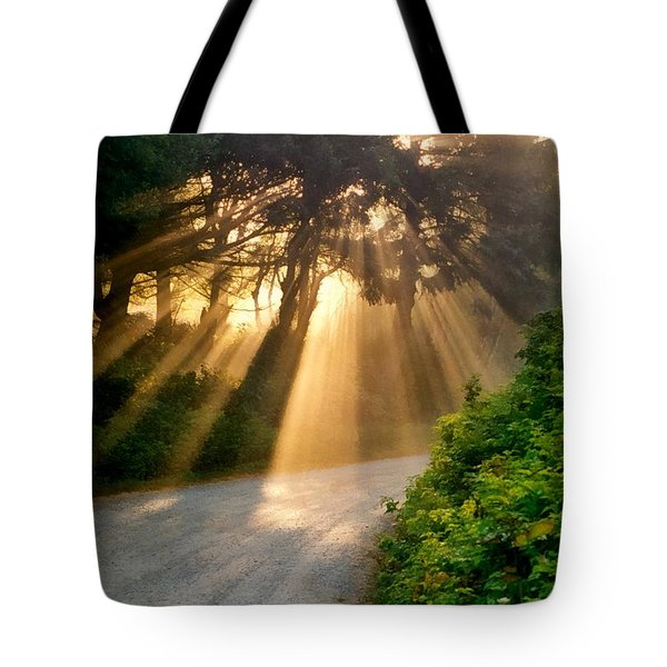 Early Morning Sunlight Tote Bag