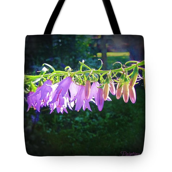 Early Morning Touch Tote Bag