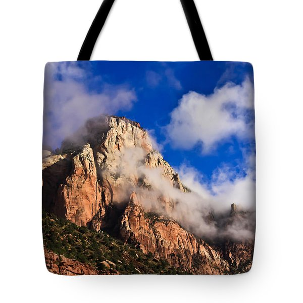 Early Morning Zion National Park Tote Bag