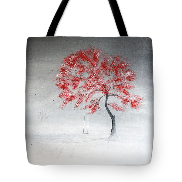 Early Snow Tote Bag by Gray  Artus