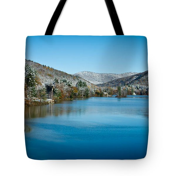 Early Snow In Vermont Tote Bag by Edward Fielding