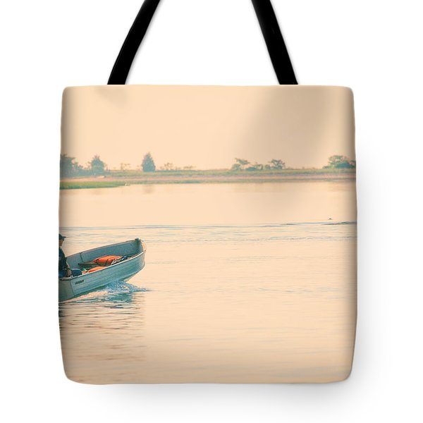 Early Start Tote Bag by Karol Livote