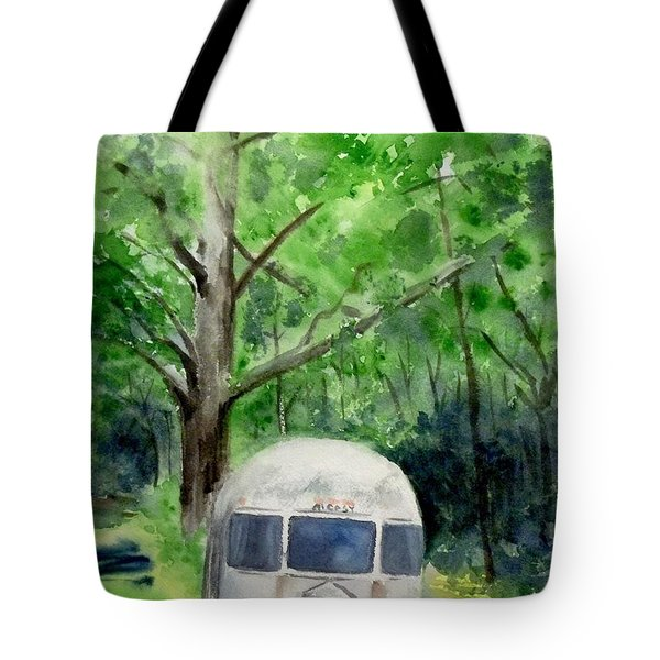 Tote Bag featuring the painting Early Summer At The Geddes Farm 1 --ann Arbor  Michigan by Yoshiko Mishina
