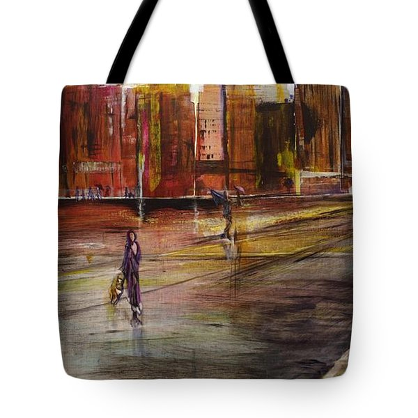 Early Sunday Morning Tote Bag