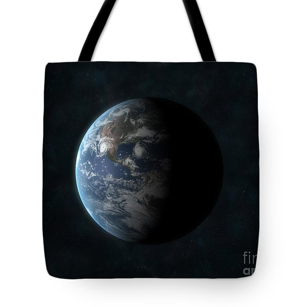 Earth Tote Bag by Carbon Lotus