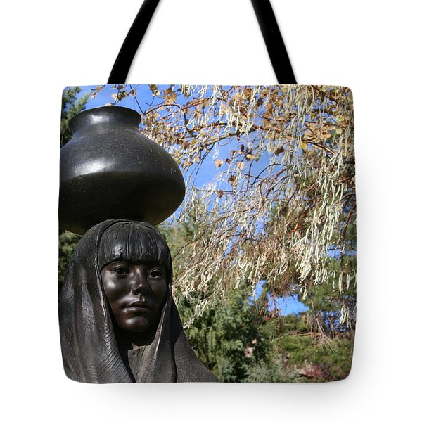 Tote Bag featuring the photograph Earth Mother by Laurel Talabere