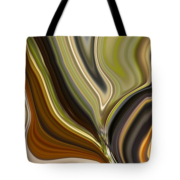 Earth Tones Tote Bag by Renate Nadi Wesley