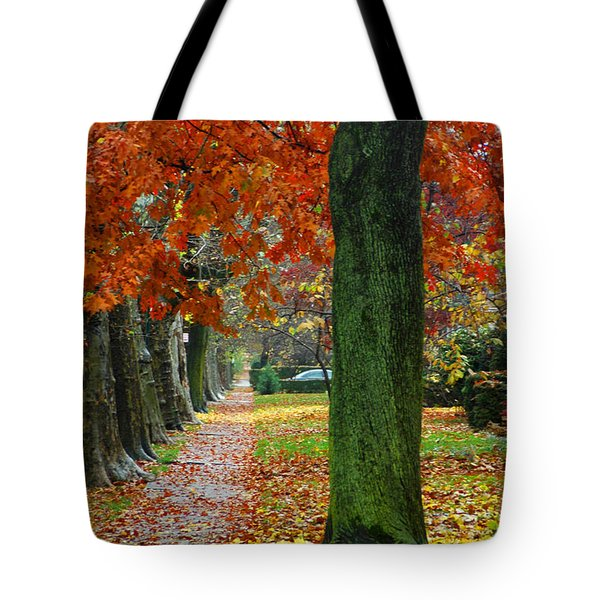 East 19 Street Brooklyn New York Tote Bag